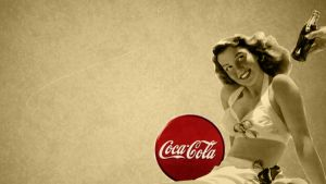 Vintage Coca Cola Wallpaper 1 by thhath