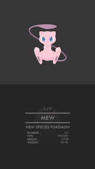 Mew by WEAPONIX