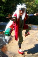 Jiraiya Sage Dance by littlecasaroo