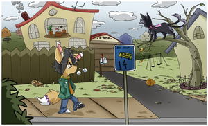 Autumn Stroll by Nestly