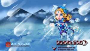 Dota 2 Chibi - CRYSTAL MAIDEN (Official) by hothanhlamleok