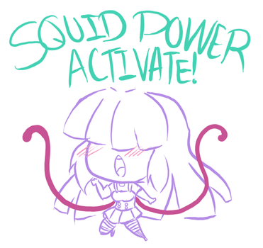 Mourgan SQUID POWER!! by Momourx