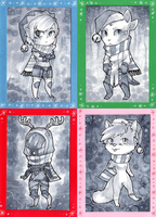 2014 Christmas Cards - Part 1 by Weissidian