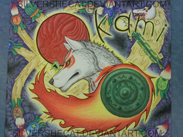 Okami: Join Her and Fight :artproject: by SilverSheCat