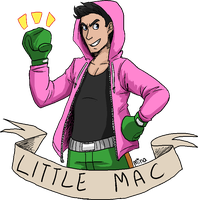 Little Mac Punches In! by 1000butts