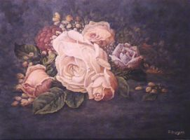 Roses by DanBurgessTheArtist