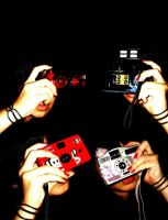 camera and red nail polish by laa-laaa