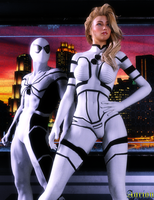 Sue Storm Bodysuit Textures / Download by Agr1on