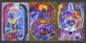 fate of Beren and Luthien by breathing2004