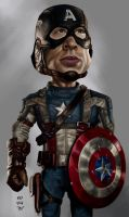 Captain America by rommel3075