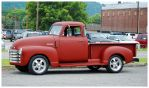A Flat Red Chevy Truck by TheMan268