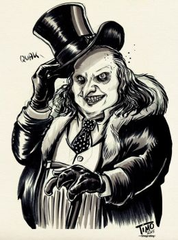 Oswald Cobblepot by TmoeGee