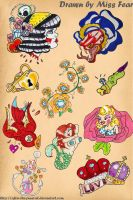 Flash Sheet 1 by after-the-funeral