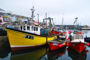 Colour In The Harbour by HarryAlabaster