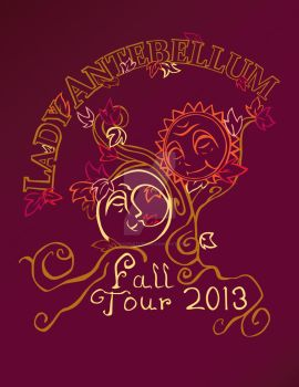 Lady Antebellum Fall Tour by TriCerieTops