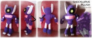 Shockwave Plush by NiGHTSgirl666