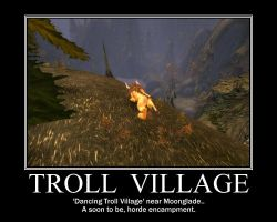 Dancing Troll Village by DarkOnister