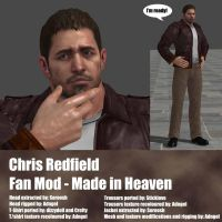 Chris Redfield Fan Mod Made in Heaven by Adngel