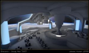 Starship - Dining Hall WIP 2 by chiaroscuro