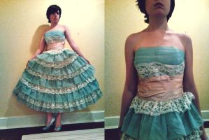 .:The 50's Prom Dress:. by MizRolyns