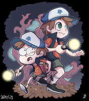 W dipper by hakutooon