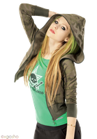 Avril Lavigne PNG by xGosho