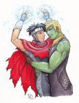 Billy and Tebby Young Avengers by Irukasdove