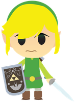 Chibi Toon Link Vector! by ViralDrone