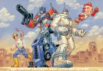 Optimus-prime feat Big-Guy by a-loft-on-cybertron