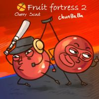 TF2 MR Cherry Fruit fortress 2 by biggreenpepper
