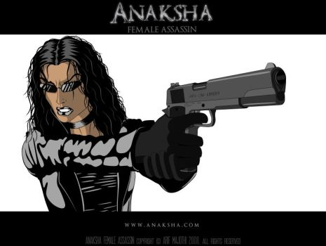 Anaksha With Semi-Automatic by arif-rocks