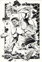 Incredible Hulk 1988 by BillReinhold