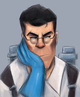 Medic is Displeased by FallonBeaumont