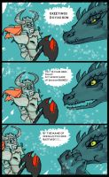 Meet Paarthurnax by Misstaxidermy
