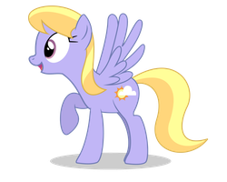 Excited Cloud Kicker by bluemeganium
