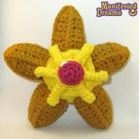 Staryu plush by ManifestedDreams