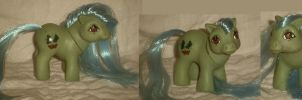 My Little Pony Custom Argentina Flutterbye Baby by Ember-lacewing
