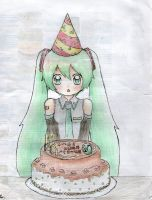 miku birthday by Hyoryo