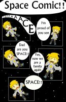 Portal: Space Comic by StrawberryCrescent
