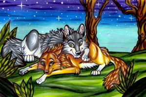Wolf Love by FullMoonLullaby