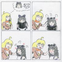 Rwby comic- petting zoo 1 by frasian