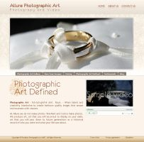 allure website by dj-dark