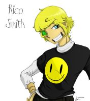 Anime Style: Rico Smith by psycho23