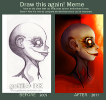 Before and After Meme by goRillA-iNK