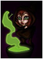 Jenny the Witch Colored by aaherregud