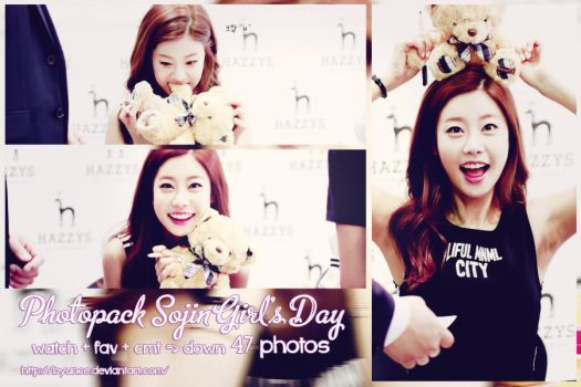 PHOTOPACK GIRL'S DAY #8 (SOJIN) by byunce
