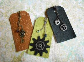 New Leather Bookmarks by random-wish
