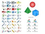 Graphic Icon Set by Ikonod