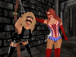 Cassidy Bryce and the Strappado of Justice by EthereaS