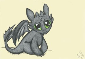 Toothless by AnnoyinglyCute